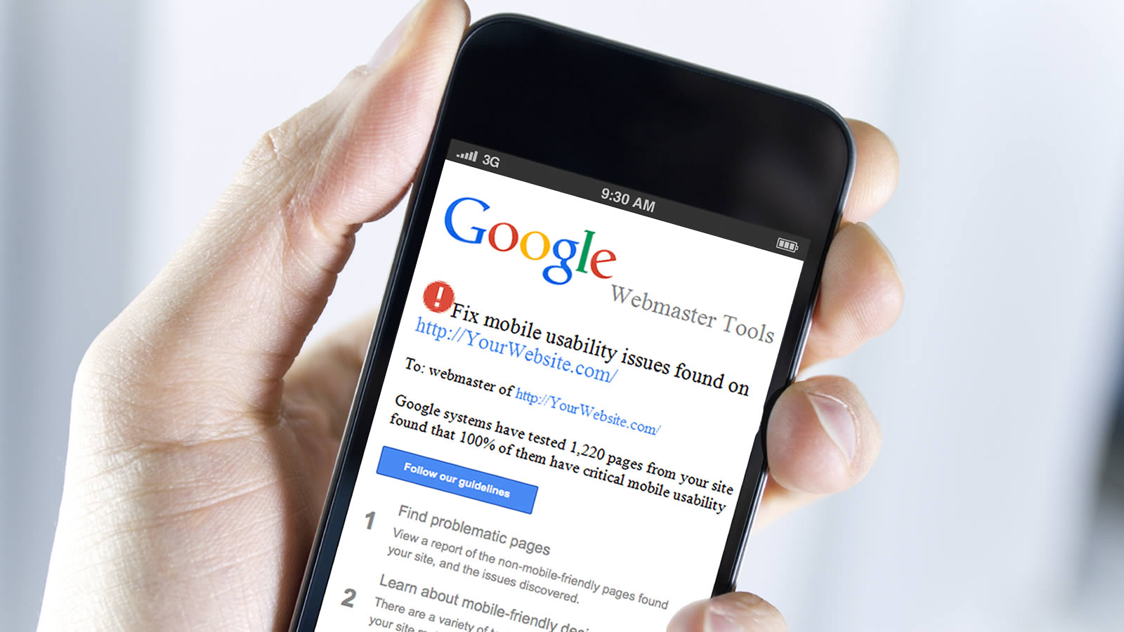 The Impact of Google's Mobile First Indexing